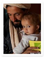 Tio miljoner barn vaccinerades i Afghanistan förra året.