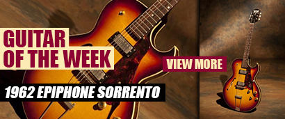Joe's Guitar of the Week: 1962 Epiphone Sorrento